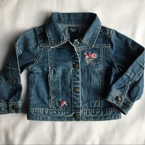 Jeans jacket size 2T girls denim coat Osh Kosh